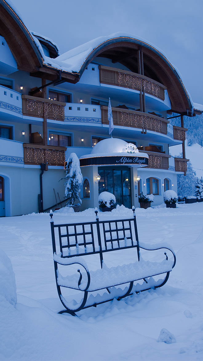 Alpin Royal Wellness Refugium Luxury Hotel In Valle Aurina Italy Small Luxury Hotels Of The World