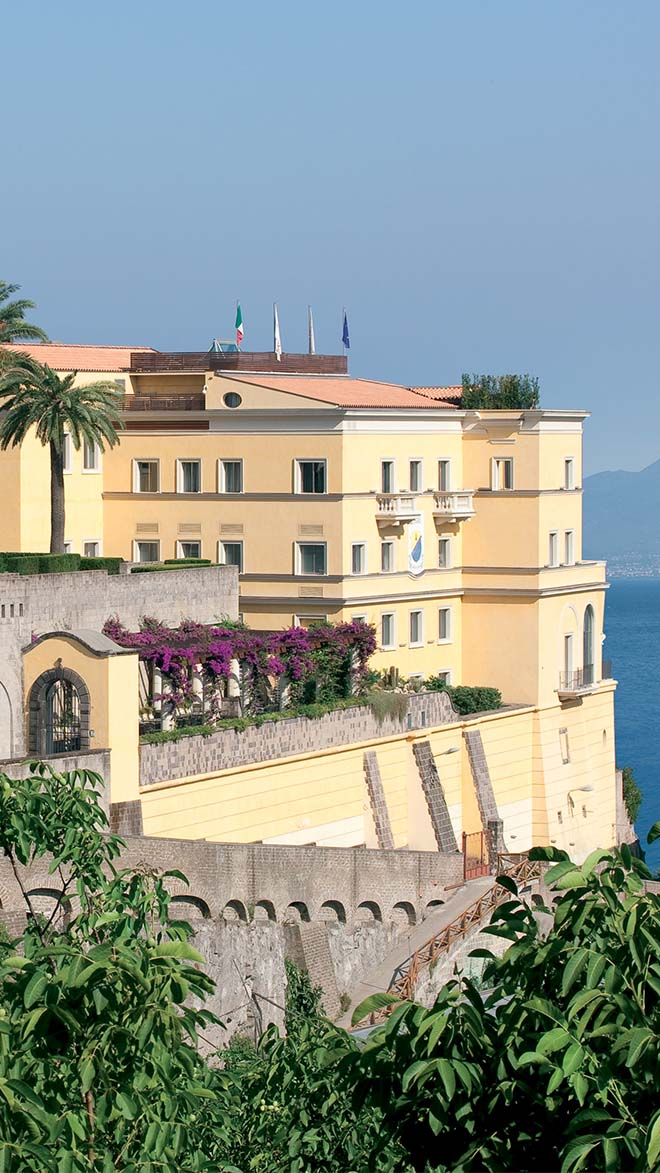 Grand Hotel Angiolieri Luxury Hotel In Sorrento Italy Small Luxury Hotels Of The World
