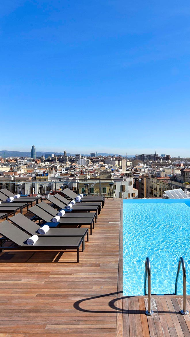 Grand Hotel Central Luxury Hotel In Barcelona Spain Small Luxury Hotels Of The World