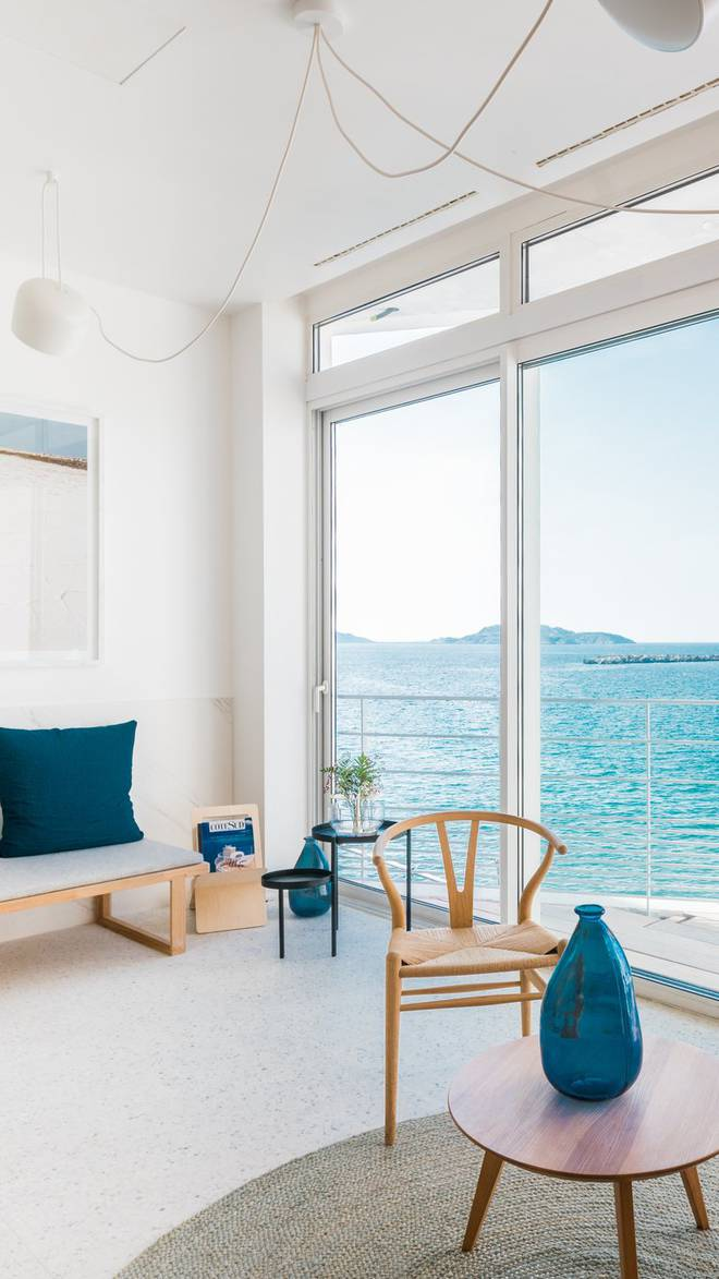 Hotel Les Bords De Mer Luxury Hotel In Marseille France Small Luxury Hotels Of The World
