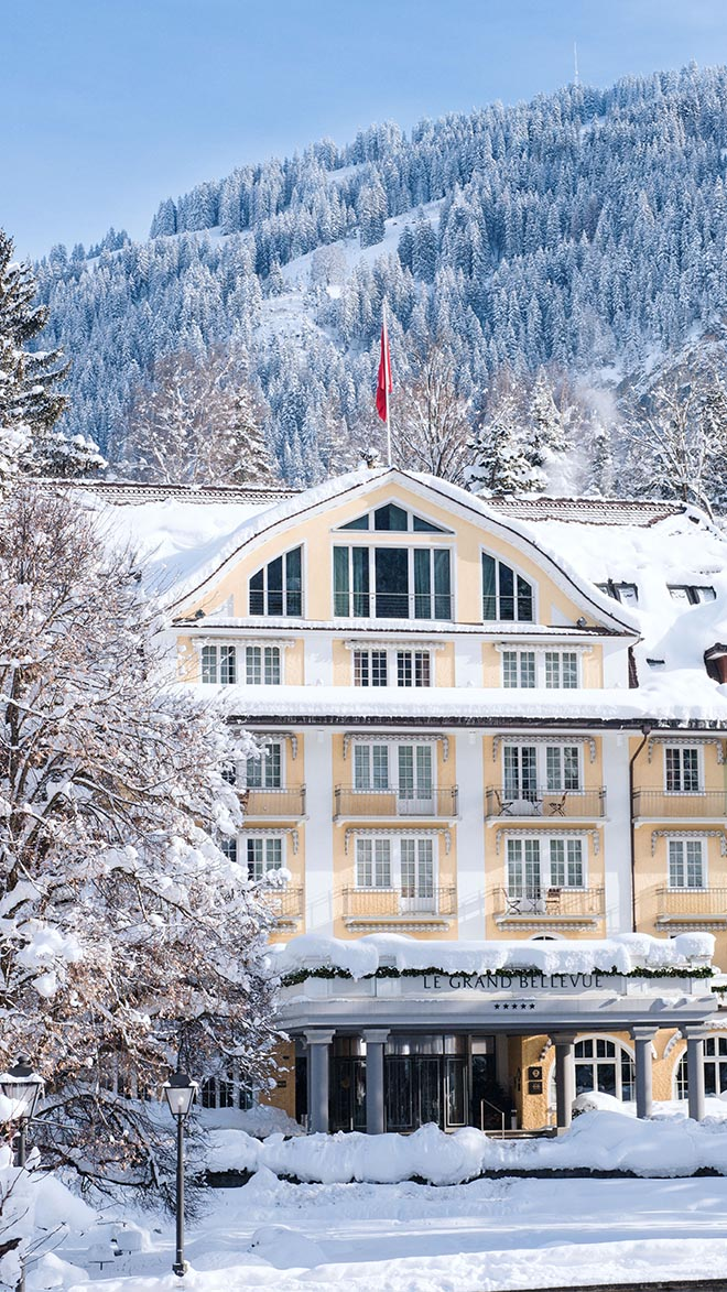 Le Grand Bellevue Luxury Hotel In Gstaad Switzerland Small Luxury Hotels Of The World